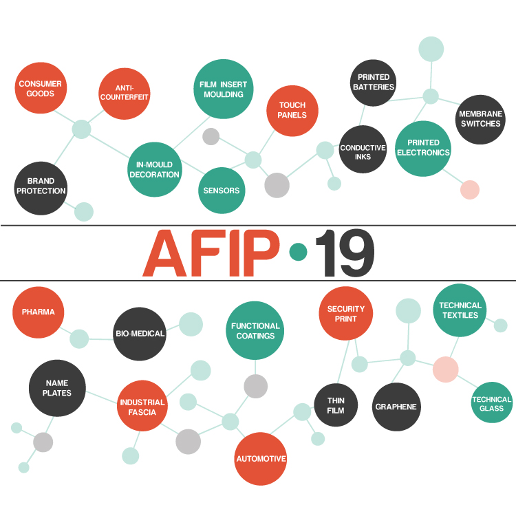 Over 20 presentations to provide new inspirations for print in production at AFIP 2019