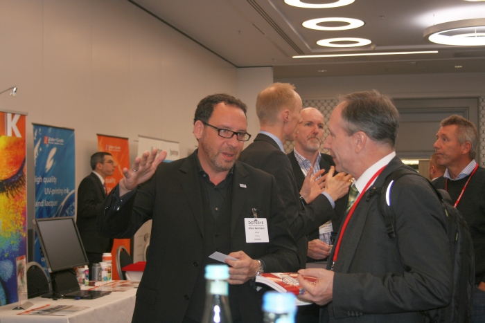 Networking in the DCP tabletop area