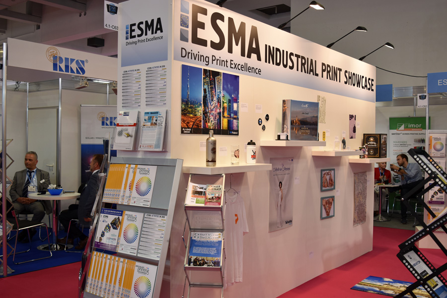 ESMA pavilion is the place to be for industrial printing at FESPA 2019
