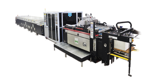 Cold foil in line by SPS Technoscreen