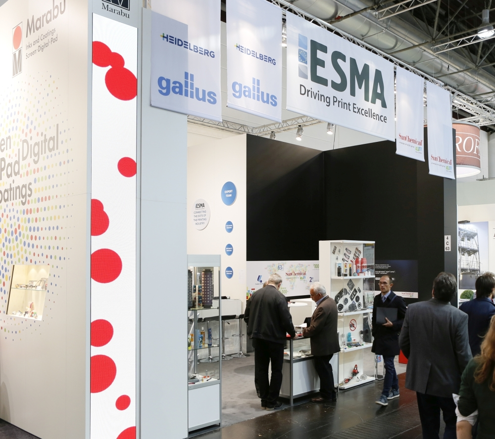 ESMA pavilion at K show